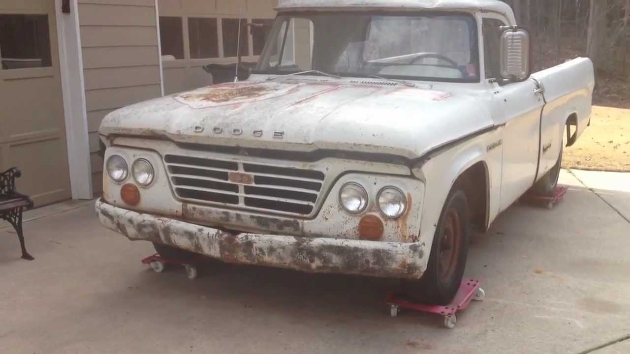 1965 Dodge D100 For Sale (SOLD!!!) - YouTube