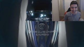 CHAMPIONS LEAGUE IN FIFA 19 !!! REACTIONEZ LA TRAILER !!!
