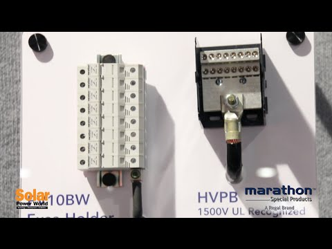 Marathon Special Products Introduces 1,500-volt Power Block