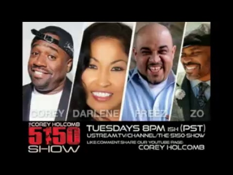 09-18-18 The Corey Holcomb 5150 Show - Kat Williams, The Emmys, and Special Guest Ronnie Jordan