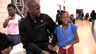 Cleveland Cavalier Jawad Williams helps out hometown kids