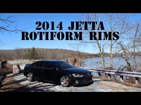2014 Jetta GLI Rotiform TMB Rims