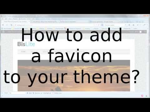 WordPress Child-Themes 17: Add a favicon to your theme