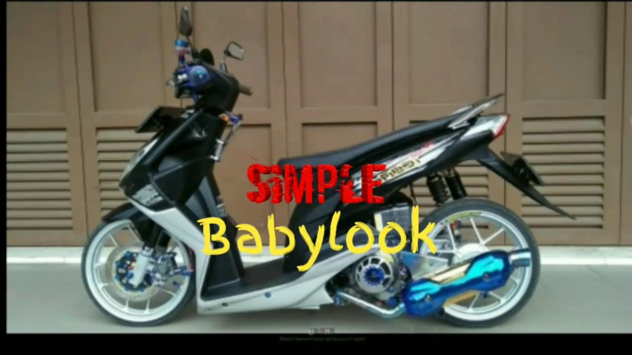 Simple Babyllok Full Modifikasi Honda Beat Esp By Babylook Style