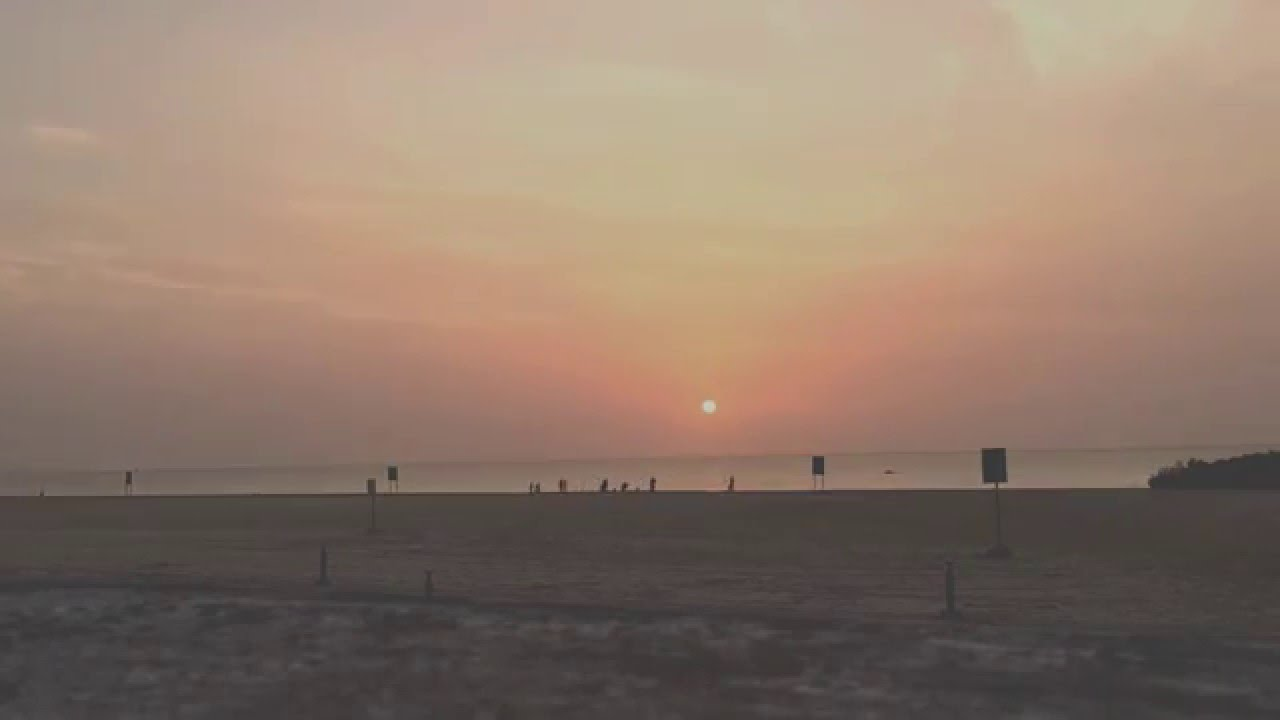 KAUST Beach Sunset - YouTube