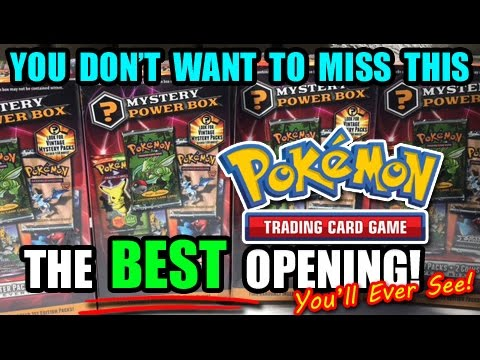 THE BEST POKEMON TCG CARD OPENING YOU