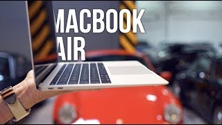 Berlín/V1 - MacBook Air unboxing, nákup Google Pixel 3 XL a Porsche Paula Walkera