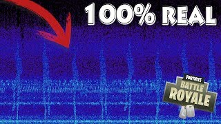 **100% REAL** METEORITE SOUND PICTURE in SPECTRE! INCREDIBLE FORTNITE Battle Royale