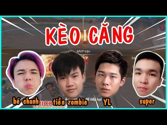 Kèo Ks MVP Cực Khắm Của Tiền Zombie v4, Bé Chanh, Yl, SupperTV