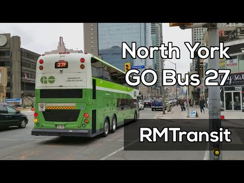 Yorkdale to North York Centre GO Bus