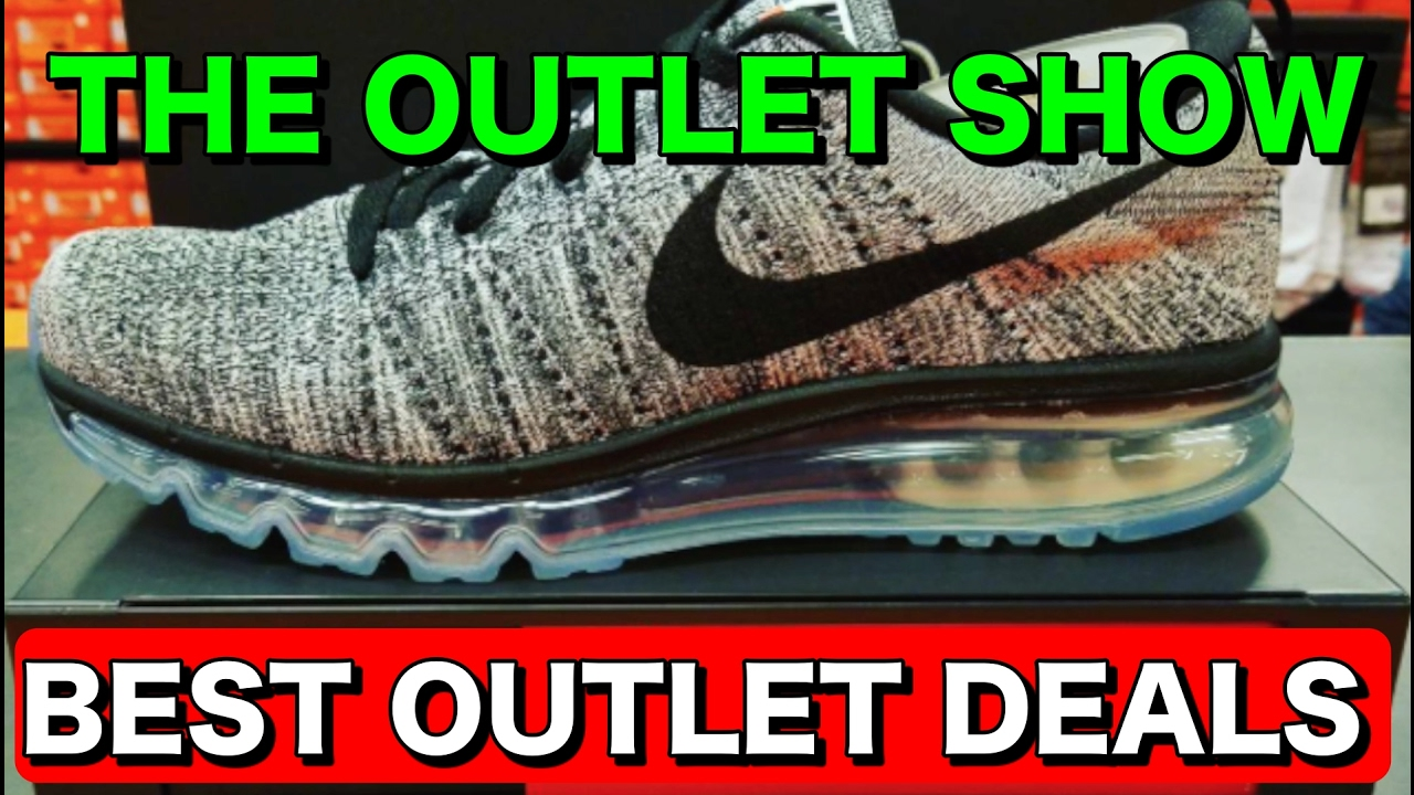 more photos 527e8 75cad The Outlet Show  8   Best Nike Outlet Deals   Nike Factory Store Deals