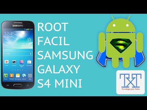 Como ser Root en el Samsung Galaxy S4 Mini - Facil - SIN RIESGO -  Bien Explicado