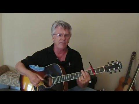 Fire Away - Chris Stapleton (Drop high D) cover/lesson/chart
