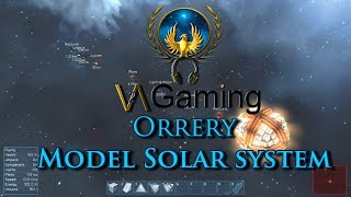 SpaceEngineers Orrery model solar system