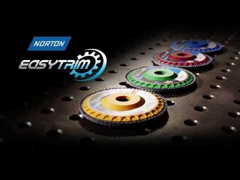 Norton EasyTrim Trimmable Flap Disc