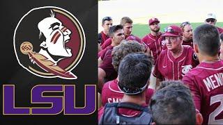 Florida State vs #13 LSU Super Regional Game 1 | College Baseball Highlights