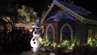 Once Upon A Christmastime Parade from the Magic Kingdom
