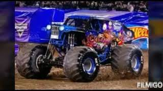 Monster jam Glendale 2019 Roblox freestyle.