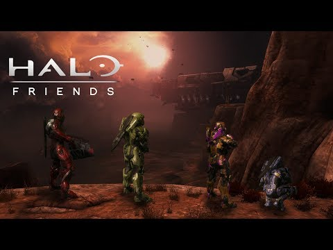 (Season Finale) Halo: Reach Friends (Remember Reach Edition) (Halo Reach Campaign + Halo 5 Customs)