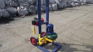 видео оборудование для бурения скважин