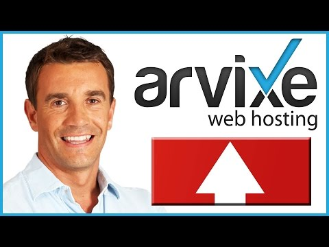 How To Upload A Website To Arvixe (Web Hosting Tutorial)