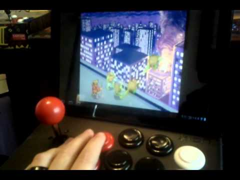 icade arcade for tablets ios android use mame4droid - YouTube