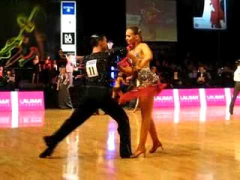 David Werner Junona Fismann World Juniors Latin 2007