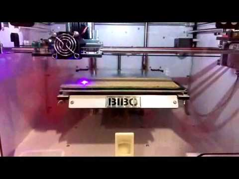 BIBO 3D printer laser engraving