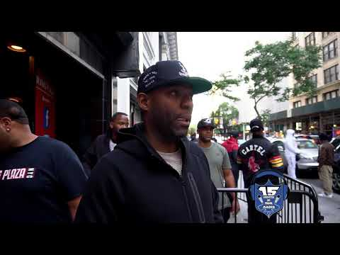 WEE BEY  HASSAN JOHNSONFROM THE WIRE TALKS BATTLE RAP AND THE WIRE AT URL'S SUMMER MADNESS 6 EVENT