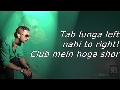 Blue Eyes Full Song Yo Yo Honey Singh - Blockbuster Song Of 2013 - Lyrics
