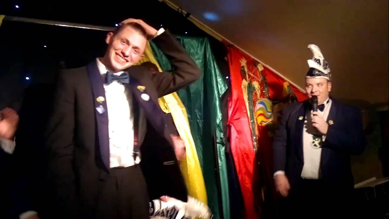 cv de kwakvusj uitroepen prins Roel zitting CV de Kwakvusj 2011   YouTube