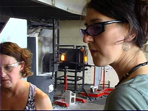 Jennifer Sears Glass Art Studio Blow your own glass float in Lincoln City