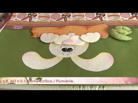 Mulher.com 04/06/2013 Priscila Muller - Babador em patchaplique Parte ...