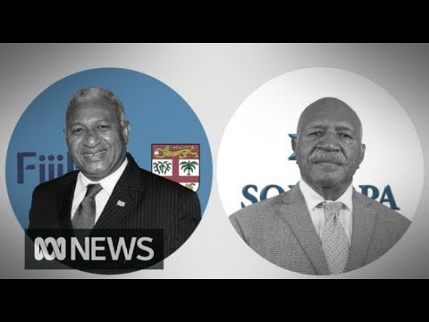 Fiji election: Frank Bainimarama's FijiFirst party well ahead | ABC News
