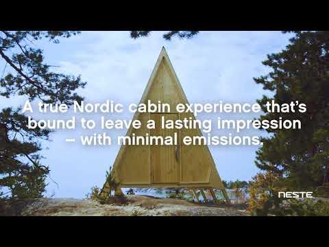 0 - Umweltfreundlicher Urlaub in Finnland mit Neste Nolla Clean Energy Cabin
