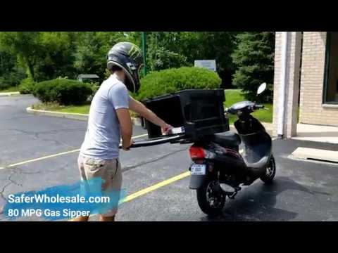 50cc Diner Dash Scooter Food Mover Moped Pizza Delivery