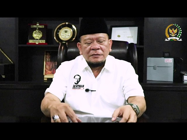 Ucapan Selamat untuk RagamIndonesia.com dari Ketua DPD-R1