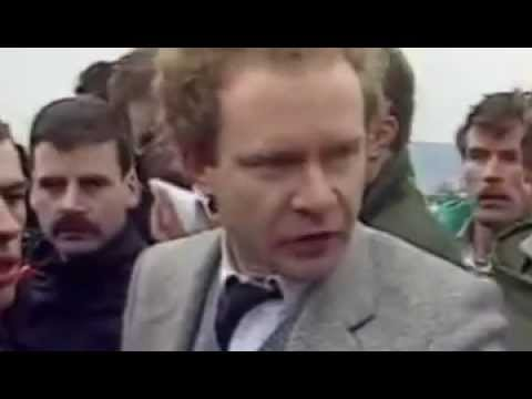 Loyalist Michael Stone Attacks Republicans at Milltown Cemetery, Belfast 1988