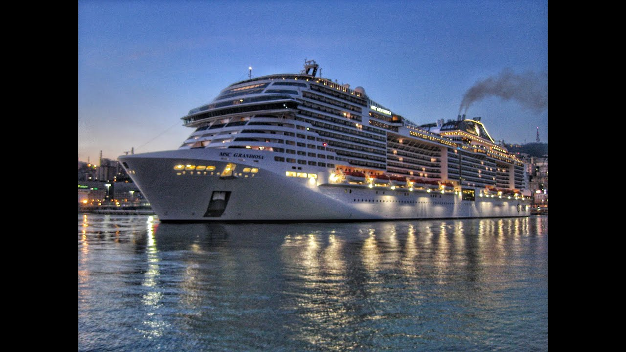 Binghi05 | MSC Grandiosa parte da Genova 15/02/2020 - YouTube
