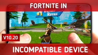 How to download fortnite in incompatible devices videos
