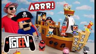 FGTEEV Raptain Hook's Pirate Sea Wagon Playset w/DUDDY Collab! SEASON 2!