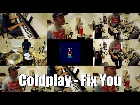 Coldplay - Fix You [FULL COVER]