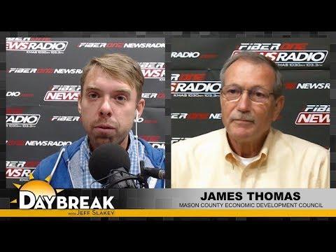 James Thomas - Chairman of the board - Mason County EDC