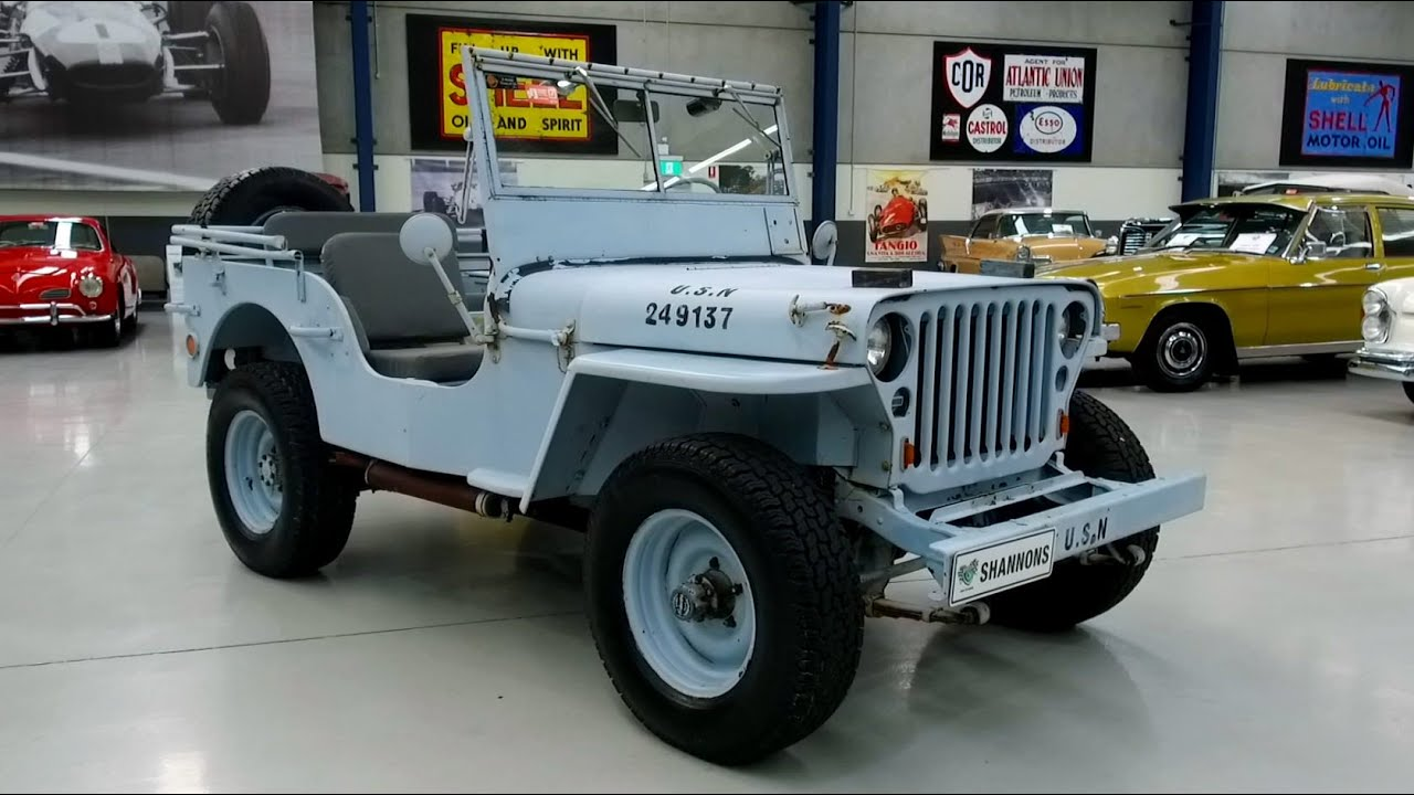 c1944 Ford Jeep WW2 (LHD) - 2020 Shannons Winter Timed Online Auction