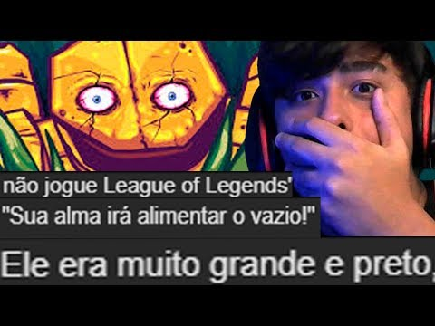CREEPYPASTAS DO LEAGUE OF LEGENDS thumbnail