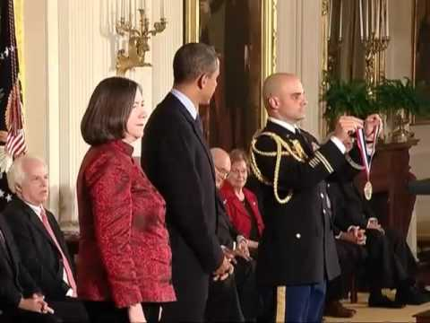 Local Scientists Receive Medals at White House