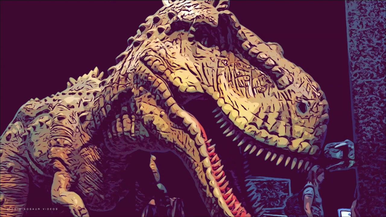Kids Dinosaur videos jurassic park/world dinosaur roars