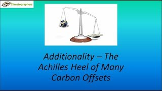 Carbon Offset Additionality (revised)