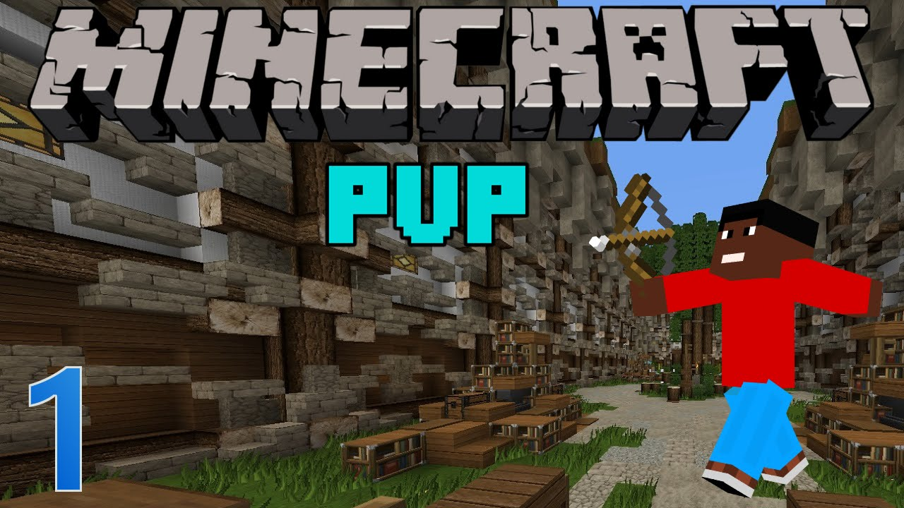 MINECRAFT PVP FPS Kit PvP Spielen Mit Verschiedenen Kits - Minecraft real spielen