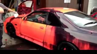 Нереальная краска для машин!! прикол!...